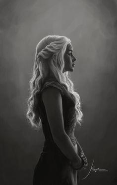 The Khaleesi: Stunning Artwork by hobomotion