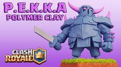 P.E.K.K.A (Clash Royale) - Polymer Clay Tutorial #pekka #clashroyale #clashofclans #polymerclay #diy #handmade