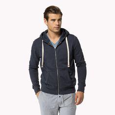 Tommy Hilfiger Cotton Hoody - navy blazer-pt (Blue) - Tommy Hilfiger Lounge & Sleepwear - main image