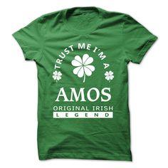 [SPECIAL] Trust Me Im A AMOS St. Patricks Day Tshirt T Shirts, Hoodies. Check price ==► https://www.sunfrog.com/Valentines/[SPECIAL]-Trust-Me-Im-A-AMOS-St-Patricks-Day-Tshirt.html?41382