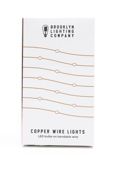 Brooklyn Lighting Co. Copper Wire Lights | South Moon Under