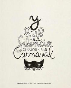 """#BuscamosAlAutor - """"Carnaval toda la vida"""" Los fabulosos Cadillacs  #pelaeldiente #feliz #comic #caricatura #viñeta #graphicdesign #fun #art #ilustracion #dibujo #humor #amor #creatividad #drawing #diseño #doodle #cartoon"""