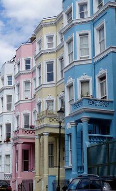 London Boroughs, City Aesthetic, Dream Decor, Beautiful World, Paths, England, House Design, Notting Hill, Mansions