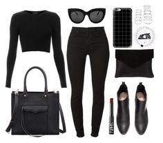 """""""Arctic Monkeys"""" by valentinadelaserna ❤ liked on Polyvore featuring H&M, 7 For All Mankind, Rebecca Minkoff, Graine, Forever 21, Topshop, NARS Cosmetics, Casetify, women's clothing and women"""