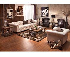Riviera Sofa  - Sofa Mart. wow...I love this WHOLE room
