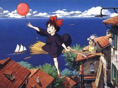 Kiki - Consegne a domicilio, trailer del film di Hayao Miyazaki #anime