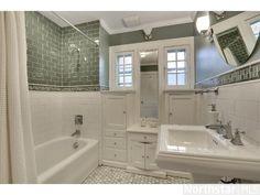 Bath with built in vanity - 1922 Craftsman- Minneapolis, MN