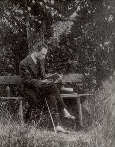 Rainer Maria Rilke in Nyon, Switzerland, ca. 1919