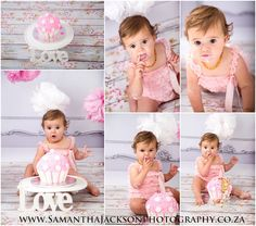 Cake Smash & Bubble Bath shoot - perfect 1 year old toddler shoot. www.samanthajacksonphotography.co.za  Studio located in Cape Town - Samantha Jackson Photography