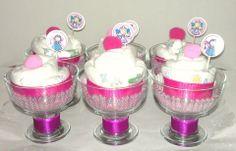 Originales Cup Cakes de Pañales.