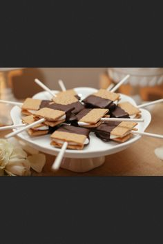 S'mores on a stick!