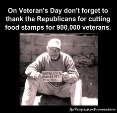 Vets Food Stamps Republicans