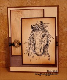 SC437 Mustang by donidoodle - Cards and Paper Crafts at Splitcoaststampers