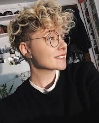 Short Curly Pixie, Short Curly Haircuts, Curly Hair Cuts, Cut My Hair, Short Hair Cuts, Curly Hair Styles, Pixie Cut, Boy Hair Cuts, Tomboy Haircut
