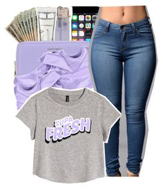 """""""supa fresh."""" by glowithbria ❤ liked on Polyvore featuring Dolce&Gabbana, M.A.C, Coccinelle, Puma and H&M"""