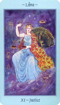 Celestial Tarot Deck - The Enchantress