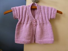 Ravelry: Little Sunshine Cardie pattern by Sue Batley-Kyle
