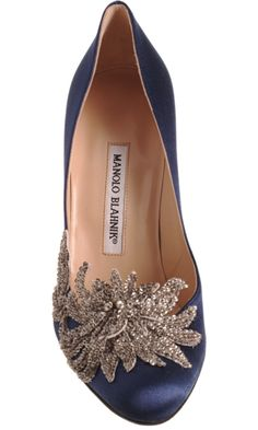 Manolo Blahnik Swan..maybe in a different color! :)
