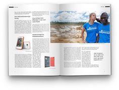 Markus Ott Portfolio - Magazin Layout