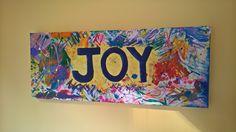 Mixed Media Artwork, Joy, Crafts, Home Decor, Homemade Home Decor, Manualidades, Being Happy, Interior Design, Home Interiors