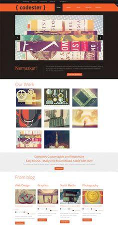 20 Free High-Quality PSD Website Templates