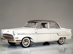 "1956 Opel Kapitän - We had this one and felt it was quite ""american"""