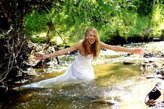 Aimless Photography trash the dress