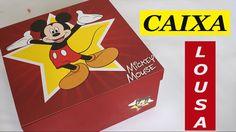 Artesanato em MDF Caixa Lousa do Mickey - Como Fazer