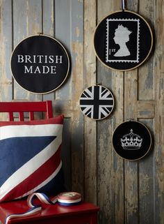 The Shop at Number 57 - love these - might have to try cross stitch on black