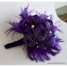 The boque I am putting together for the maid of honor and me i found it on line pretty hu