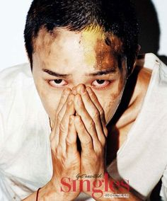 BIGBANG's G-Dragon Singles Korea Magazine September 2011