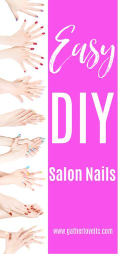 Want beautiful salon perfect nails but don't want to pay the salon costs? Head on over to discover h Pedicure At Home, Nails At Home, Diy Manicure, Manicure And Pedicure, Tips And Tricks, Wholesale Beauty Supplies, Wedding Pedicure, Cute Pedicures, Soak Off Gel Nails