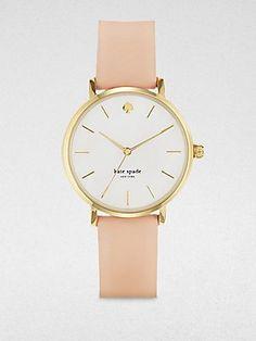 Kate Spade Watches Women's 1YRU0073 Classic Gold Metro Vachetta Strap Watch Kate Spade Watches, http://www.amazon.com/dp/B007H13SHC/ref=cm_sw_r_pi_dp_p5Airb0SZ4Q38