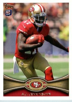 2012 Topps Football Card # 112 A.J. Jenkins RC - San Francisco 49ers (RC - Rookie Card) (NFL Trading Card) by 2012 Topps. $3.95. 2012 Topps Football Card # 112 A.J. Jenkins RC - San Francisco 49ers (RC - Rookie Card) (NFL Trading Card)