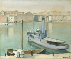 Art Impressionniste et Moderne - View Auction details, bid, buy and collect the various artworks at Sothebys Art Auction House. Henri Matisse, Great Paintings, Landscape Paintings, Rio Sena, France Art, Ouvrages D'art, Painting Gallery, Art Moderne, French Artists