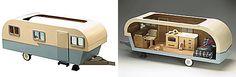 Holiday Gift Guide Mini Trailer - Miniature dollhouse trailer