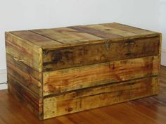 pallet chest - make this :)