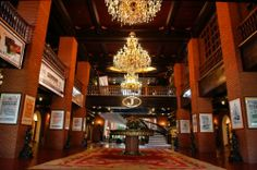 Fort Ilocandia Hotel - Lobby Ilocos, Welcome Decor, Hotel Lobby, At The Hotel, Smoking Room, 5 Star Hotels, Outdoor Pool, Hotels And Resorts, Hotel Offers