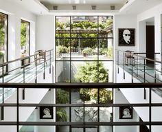 Legendary New York Actor Robert De Niro's Breezy West Village Home : Architectural Digest Architecture Extension, Interior Architecture, Interior And Exterior, Interior Design, Interior Ideas, Interior Styling, West Village, Architectural Digest, New York Loft