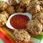 Mini Pizza Muffins #vegan #recipes