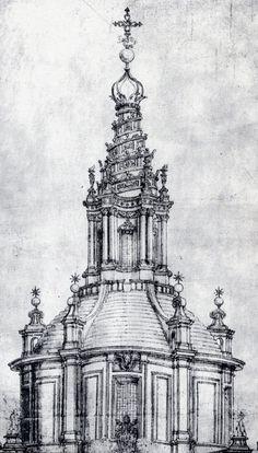 Francesco Borromini - Cupola di Sant'Ivo alla Sapienza