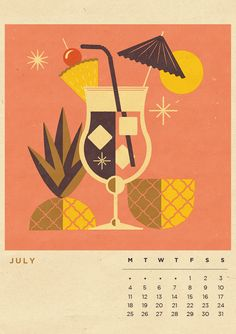 Our Infamous Illustrated Calendar is BACK! Containing 12 BRAND NEW illustrations inspired by our favourite seasonal beverages. Get the calendar complete with our beautiful high quality, veneered dark wood clipboard, as pictured above here:http://tele…