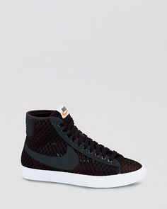 d0111ac7441a Nike Sneakers Lace Up High Top Sneakers - Women s Blazer Mid Mesh Shoes -  Bloomingdale s