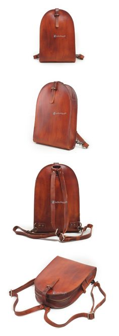 Small Leather Backpack for Women Stylish Backpack Purses (4)