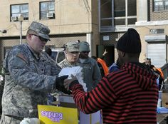 Hurricane Sandy Response - PA National Guard Assists NYC Relief Efforts - Nov. 5, 2012 #military #emergency #hurricanesandy #nationalguard
