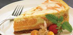 White Chocolate and Pumpkin Cheesecake