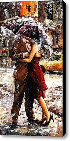 Rainy Day - Love In The Rain 2, by Emerico Toth