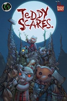 Teddy Scares Graphic Novel Volume 1 - Teddy Scares