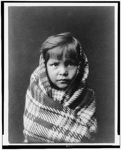 Navaho child   Curtis, Edward S., 1868-1952, photographer     c1905.