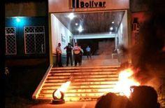 La GN (Militar) reprimió #Protesta en #SantaElenaDeUairén #Bolívar #Venezuela (21) @CESCURAINA/Prensa en Castellano en #Twitter